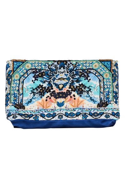 CAMILLA TOKYO TRIBE EMBELLISHED CLUTCH