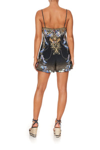 TUCK FRONT PLAYSUIT PALACE PLAYHOUSE