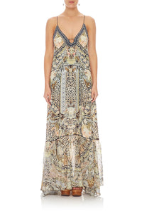 CAMILLA U-RING MAXI DRESS MOTO MAIKO