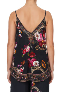 V NECK CAMI MIRROR MIRROR