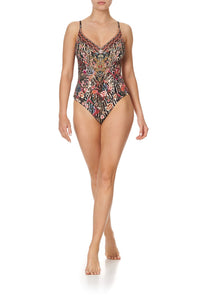 V NECK UNDERWIRE ONE PIECE LIV A LITTLE