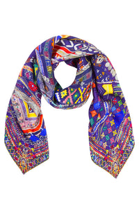 WHERE YOULL FIND ME LARGE SQUARE SCARF