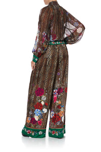 WIDE LEG PANT WITH CUFFS JEWEL OF JUPITER