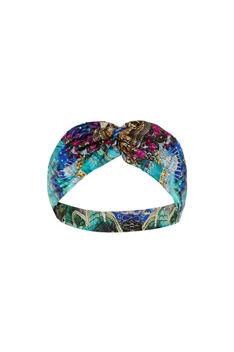 CAMILLA WOVEN TWIST HEADBAND FREEDOM FLIGHT