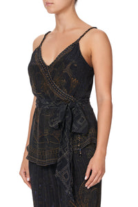 WRAP TOP WITH TWIST STRAPS COBRA KING