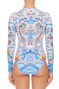 CAMILLA ZIP FRONT PADDLESUIT GEISHA GATEWAYS