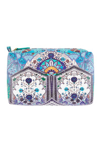 EVERLASTING UDAIPUR SAFFIANO PRINTED MAKE UP BAG