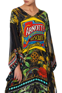 KAFTAN WITH SHEER SLEEVE ARNOTTS