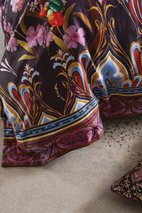 SUPER KING BED QUILT COVER SET WILD FLOWER