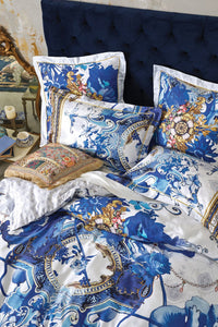 SUPER KING BED QUILT COVER SET SAINT GERMAINE