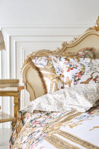 SUPER KING BED QUILT COVER SET OLYMPE ODE