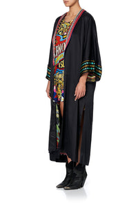LONG ROBE WITH NARROW COLLAR ARNOTTS