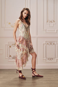 LAYERED ASYMMETRICAL DRESS GOLDEN AGE