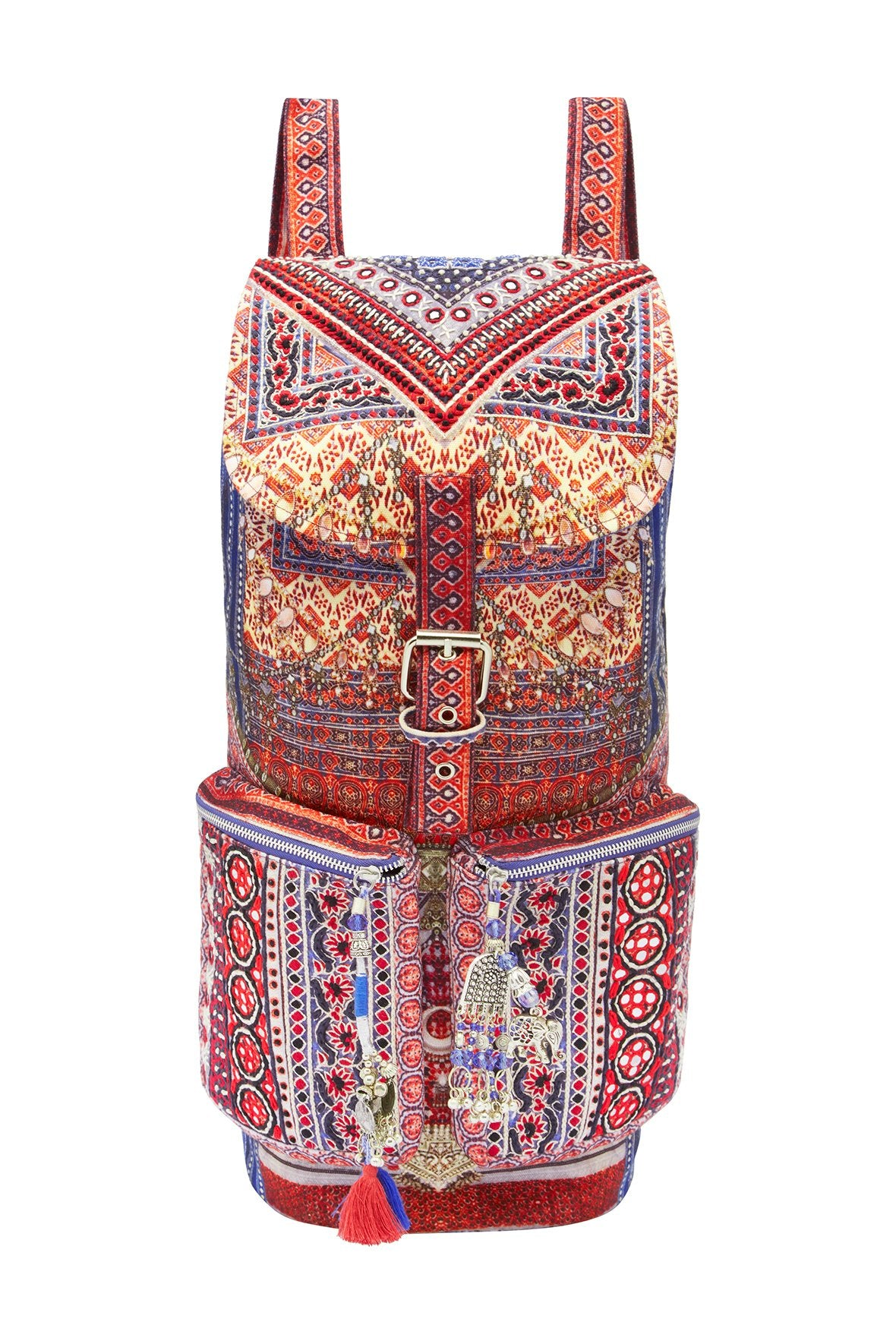 OVERNIGHT BAG EMBELLISHED BACKPACK