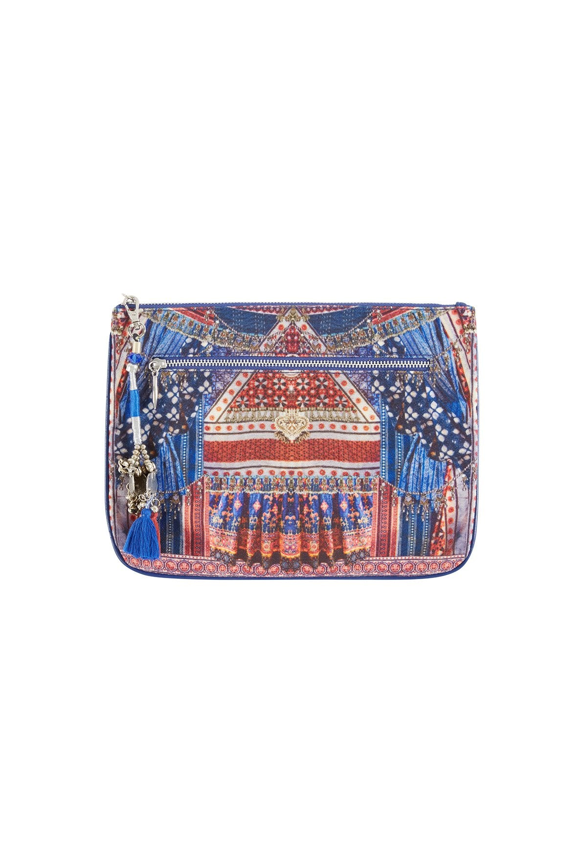 OVERNIGHT BAG SMALL CANVAS CLUTCH