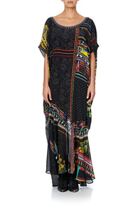 PANELLED HEM KAFTAN BLACKHEATH BETTY