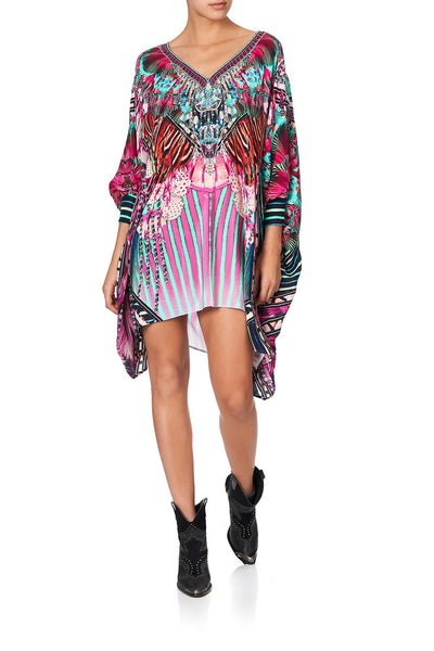SHORT KAFTAN WITH CUFF RAINBOW EYES