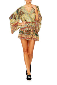 ECHOES OF ENCHANTMENT KIMONO PLAYSUIT