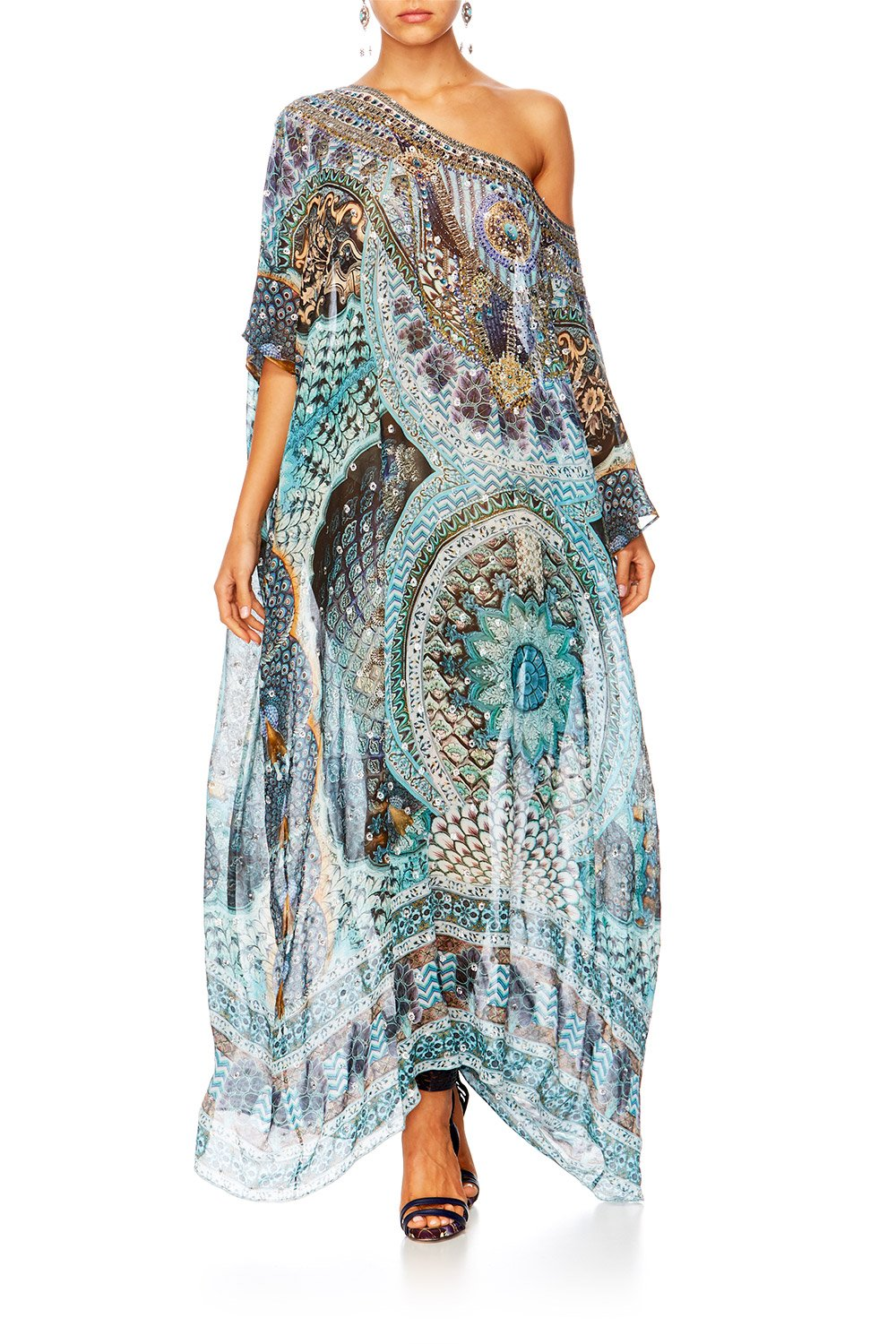 TURN ON THE CHARM ROUND NECK KAFTAN