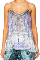 CAMILLA WINGS TO FLY T-BACK SHOESTRING TOP