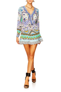 CAMILLA EVERLASTING UDAIPUR SHORT CROSS FRONT DRESS