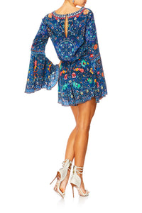 KINDNESS KALEIDOSCOPE WIDE SLEEVE PLAYSUIT