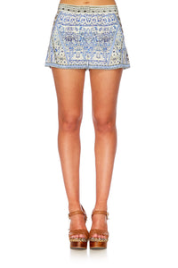 LOST IN A DREAM WAISTED TAILORED SHORTS