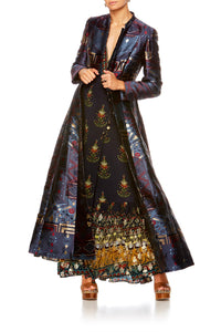 BLISS OF BOHEMIA LONG PANELLED COAT