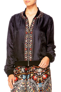 CHAMBER OF REFLECTIONS REVERSABLE BOMBER JACKET
