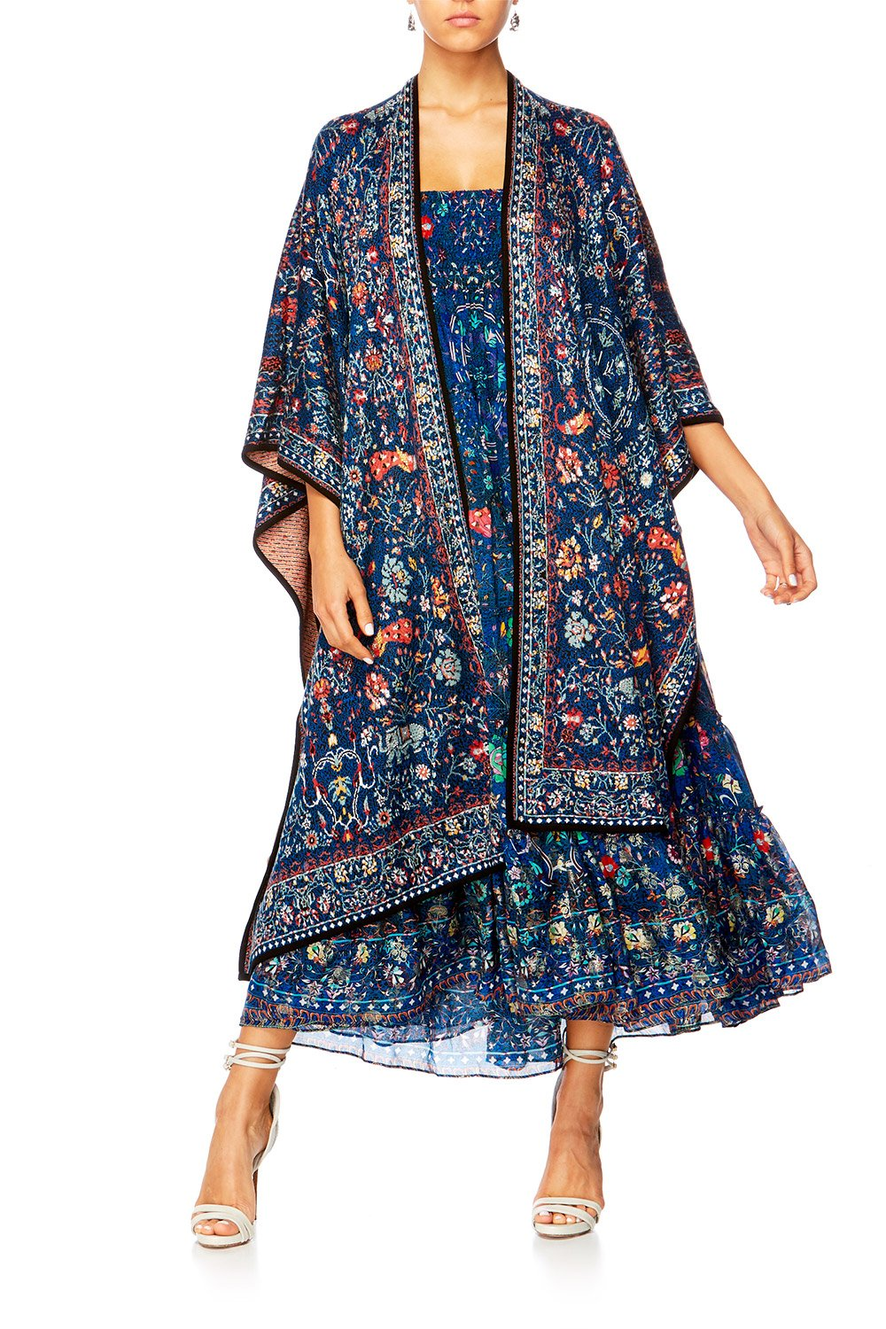 KINDNESS KALEIDOSCOPE OVERSIZED THROWOVER