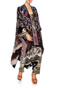 DANCING IN THE DARK OVERSIZED THROWOVER PONCHO