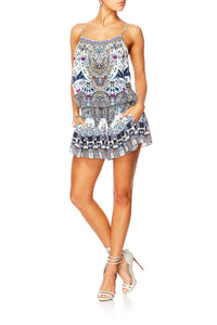 IN THE CONSTELLATIONS SHOESTRING PLAYSUIT