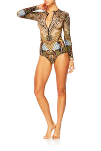 THE GYPSY LOUNGE ZIP FRONT PADDLESUIT