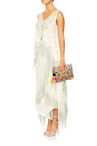 BOUNDLESS BLISS SMALL CANVAS CLUTCH