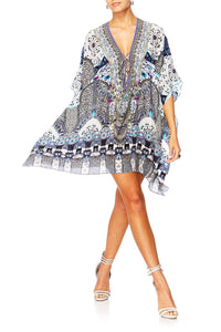 IN THE CONSTELLATIONS SHORT LACE UP KAFTAN
