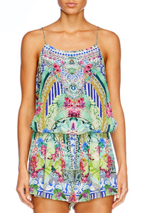 BAHIA BLISS SHOESTRING STRAP PLAYSUIT