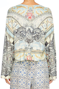 LOST IN A DREAM PRINTED KNITTED JUMPER