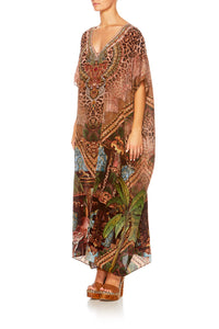 THE GYPSY LOUNGE V-NECK KAFTAN
