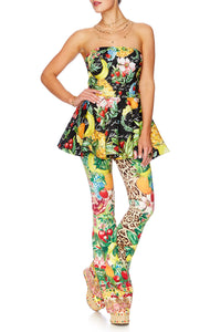 CALL ME CARMEN FITTED PEPLUM CORSET