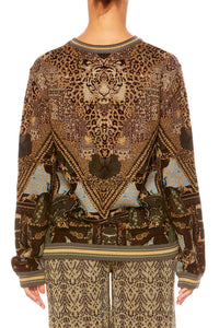 THE GYPSY LOUNGE ROUND NECK SWEATER