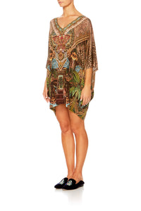 THE GYPSY LOUNGE BAT SLEEVE DRESS