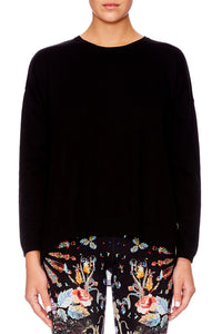 DANCING IN THE DARK CREW NECK JUMPER
