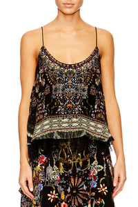 DANCING IN THE DARK DOUBLE LAYER CAMI TOP