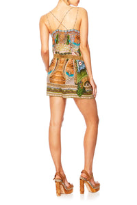 A WOMANS WISDOM METAL HARDWEAR PLAYSUIT