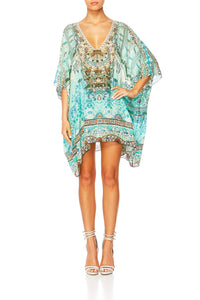 THE SPIRIT WITHIN V-NECK KAFTAN