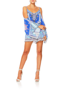 STRENGTH IN RAYS DROP SHOULDER PLAYSUIT