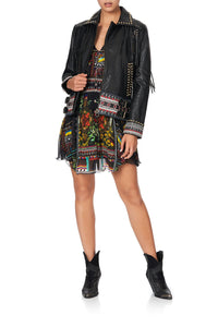STUDDED BIKER JACKET BLACKHEATH BETTY