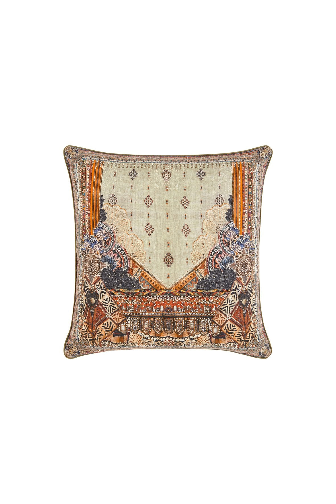 THE CARAVAN LARGE SQUARE CUSHION