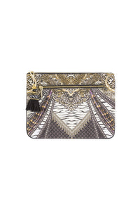 THE BODYGUARD SMALL CANVAS CLUTCH