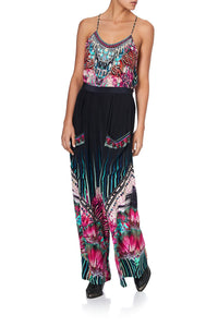 WIDE LEG TROUSER WITH FRONT POCKETS RAINBOW EYES